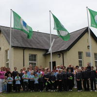 089-3rd Green Flag for Curravagh National School 162