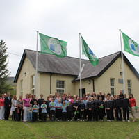 090-3rd Green Flag for Curravagh National School 163