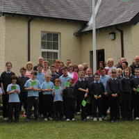 091-3rd Green Flag for Curravagh National School 164