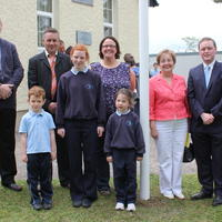 097-3rd Green Flag for Curravagh National School 175