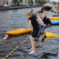064-14-06-2013 Canoe Polo Clinics in Assen 076