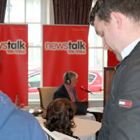 008-Pat Kenny Radio Show from Mac Neane Bistro Blacklion Co Cavan 027