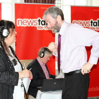 041-Pat Kenny Radio Show from Mac Neane Bistro Blacklion Co Cavan 049