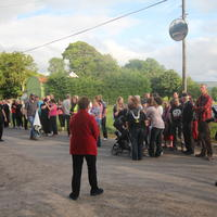 08-21-07-2014  ; Fracking protest in Belcoo Co Fermanagh 013