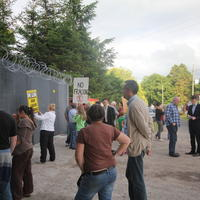 09-21-07-2014  ; Fracking protest in Belcoo Co Fermanagh 014