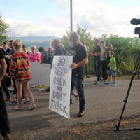 11-21-07-2014  ; Fracking protest in Belcoo Co Fermanagh 016
