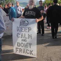 12-21-07-2014  ; Fracking protest in Belcoo Co Fermanagh 018