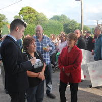13-21-07-2014  ; Fracking protest in Belcoo Co Fermanagh 020