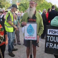 46-21-07-2014  ; Fracking protest in Belcoo Co Fermanagh 070