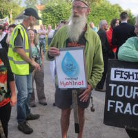 47-21-07-2014  ; Fracking protest in Belcoo Co Fermanagh 071