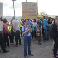 49-21-07-2014  ; Fracking protest in Belcoo Co Fermanagh 074