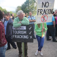 50-21-07-2014  ; Fracking protest in Belcoo Co Fermanagh 075