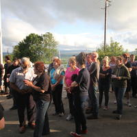 55-21-07-2014  ; Fracking protest in Belcoo Co Fermanagh 083