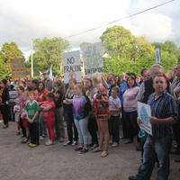 59-21-07-2014  ; Fracking protest in Belcoo Co Fermanagh 087