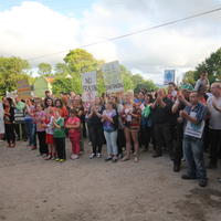 63-21-07-2014  ; Fracking protest in Belcoo Co Fermanagh 092