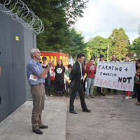 64-21-07-2014  ; Fracking protest in Belcoo Co Fermanagh 093