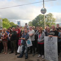 68-21-07-2014  ; Fracking protest in Belcoo Co Fermanagh 098