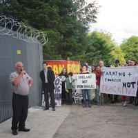 73-21-07-2014  ; Fracking protest in Belcoo Co Fermanagh 106