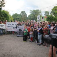 75-21-07-2014  ; Fracking protest in Belcoo Co Fermanagh 109