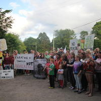 76-21-07-2014  ; Fracking protest in Belcoo Co Fermanagh 110