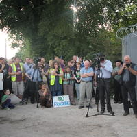 79-21-07-2014  ; Fracking protest in Belcoo Co Fermanagh 116