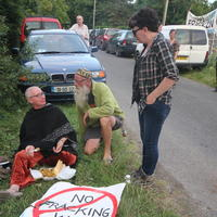 87-21-07-2014  ; Fracking protest in Belcoo Co Fermanagh 129