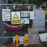 08-10-08-2014 Fracking protest in Belcoo Co Fermanagh 003