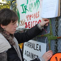 27-10-08-2014 Fracking protest in Belcoo Co Fermanagh 028