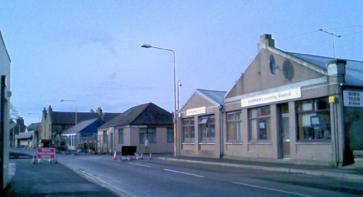 Junction Road roadworks & superstation