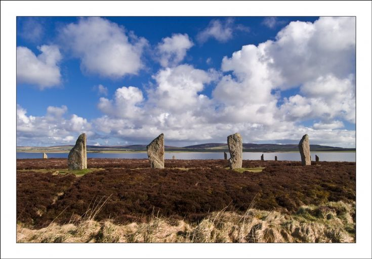 Spring At The Ring Of Brodgar
