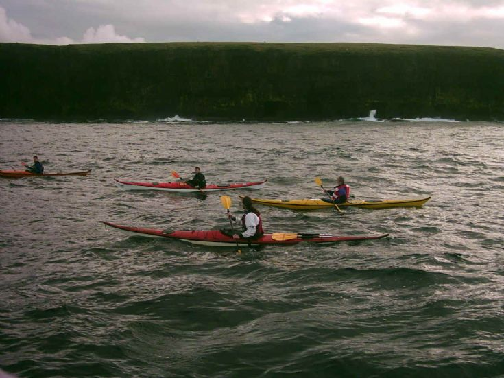 Kirkwall Kayak Club Paddle