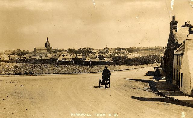 Kirkwall from High Street