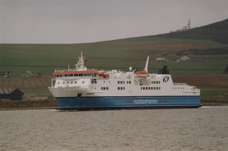 Hamnavoe in Kirkwall Bay
