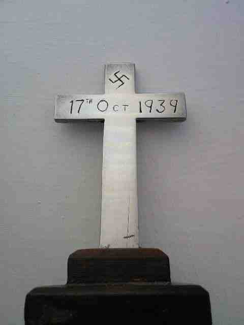 A cross with a history.