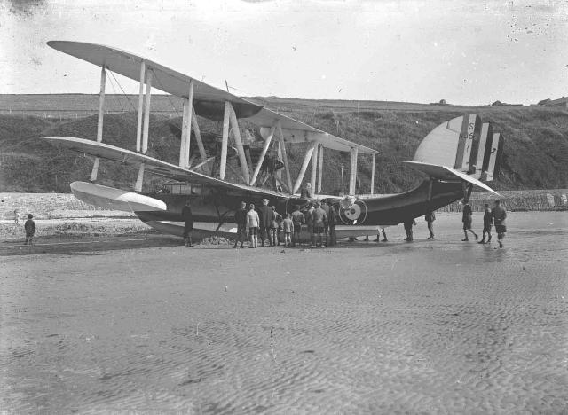 A seaplane at Scapa