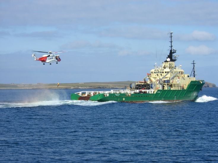 orkney off shore fire crew
