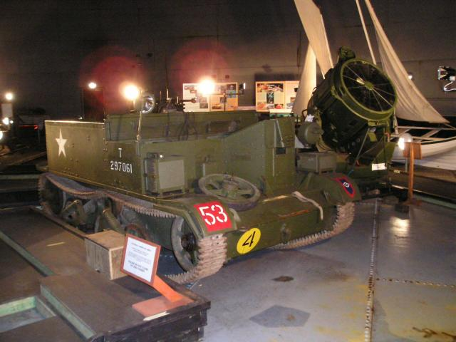 World War Two mobile searchlight
