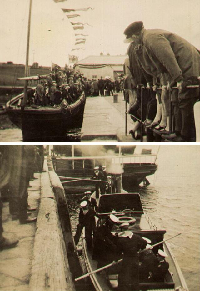 Christening of Long Hope lifeboat