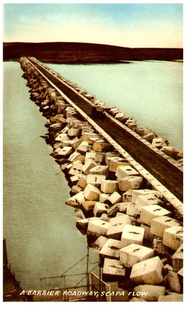 Churchill barrier