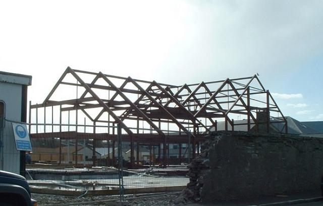 Construction of new library 2/4