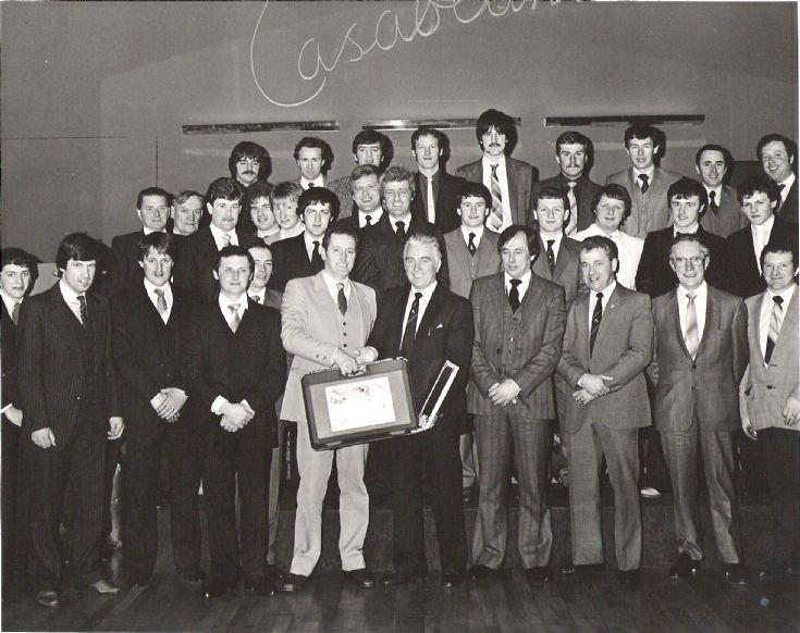 Orkney Firemen 1985 at the Casabalanca