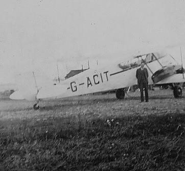De Haviland Dragon? at Wideford Airfield