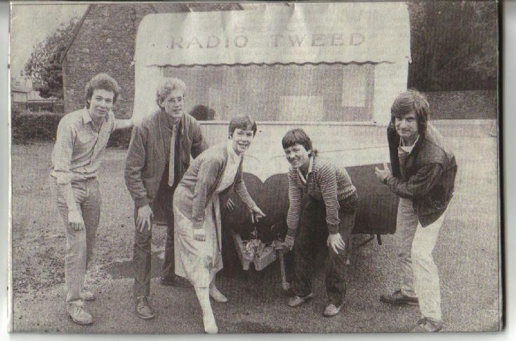 BBC Radio Outside Broadcast Team.