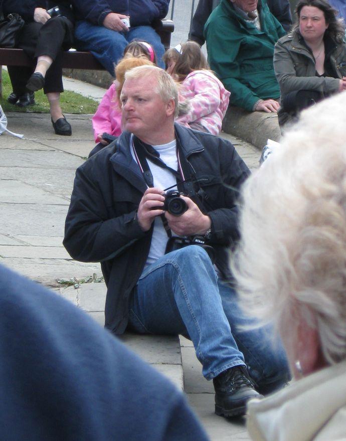 Bruce Flett on the other side of the lens