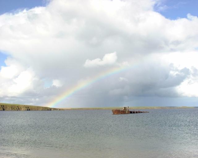 Inganess rainbow