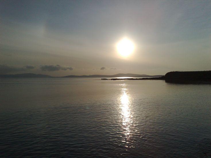 Scapa Flow fae Sandoyne