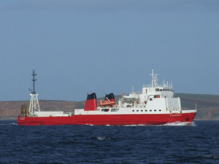 claymore seen from mv graemsay