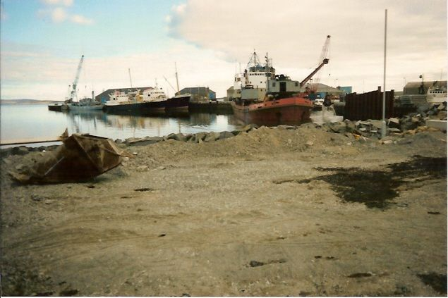 Kirkwall Pier