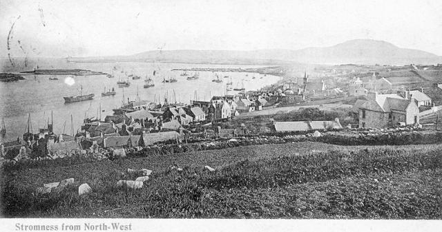 Stromness from the North-West