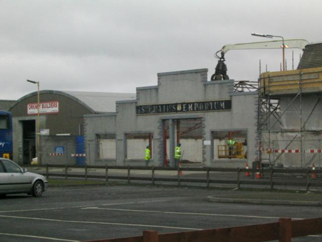 St Clair's Emporium demolition